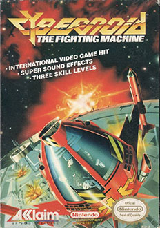 Carátula del juego Cybernoid The Fighting Machine (NES)