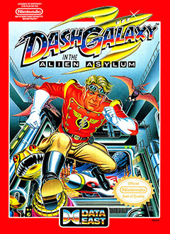 Juego online Dash Galaxy in the Alien Asylum (NES)