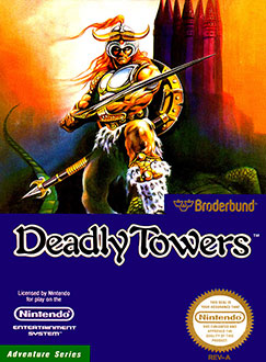 Juego online Deadly Towers (NES)