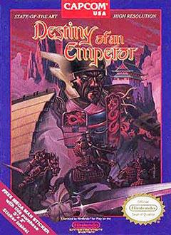 Carátula del juego Destiny of an Emperor (NES)