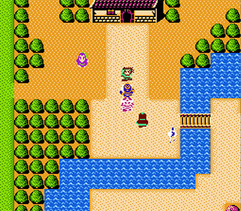 Pantallazo del juego online Destiny of an Emperor (NES)