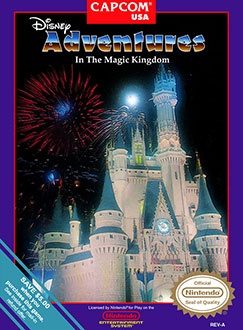Juego online Disney Adventures in the Magic Kingdom (NES)