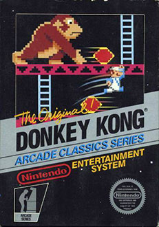 Juego online Donkey Kong (NES)