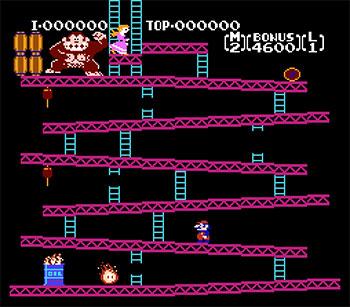Imagen de la descarga de Donkey Kong