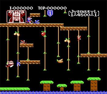 Imagen de la descarga de Donkey Kong Jr.