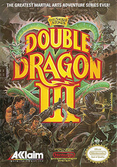 Carátula del juego Double Dragon III The Sacred Stones