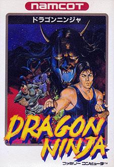 Portada de la descarga de Dragon Ninja