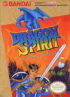 Juego online Dragon Spirit: The New Legend (NES)