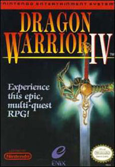 Juego online Dragon Warrior IV (NES)