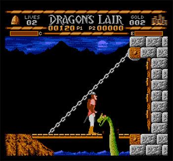 Imagen de la descarga de Dragon's Lair