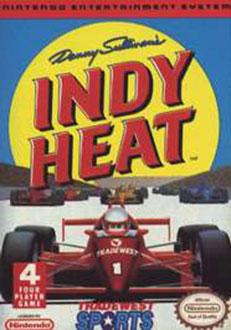 Juego online Danny Sullivan's Indy Heat (NES)