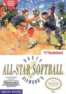 Juego online Dusty Diamond's All-Star Softball (NES)