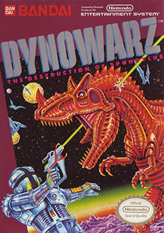 Juego online Dynowarz: The Destruction of Spondylus (NES)