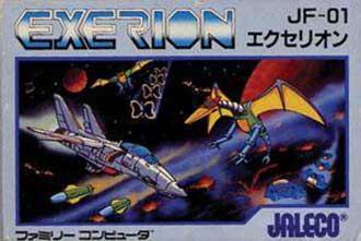 Juego online Exerion (NES)
