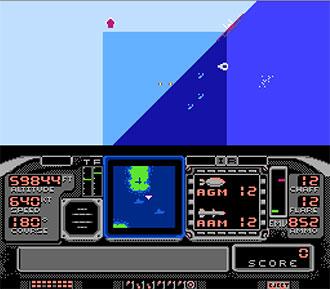 Pantallazo del juego online F-117A Stealth Fighter (NES)