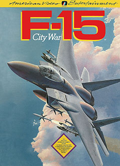 Portada de la descarga de F-15 City War