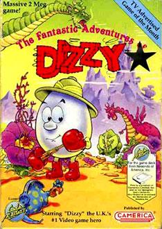 Portada de la descarga de The Fantastic Adventures of Dizzy
