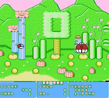 Imagen de la descarga de Fantasy Zone