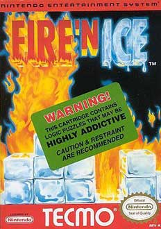 Juego online Fire 'N Ice (NES)