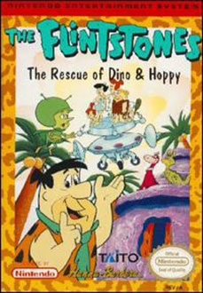 Juego online The Flintstones: The Rescue of Dino and Hoppy (NES)