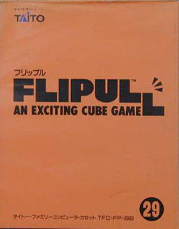 Juego online Flipull: An Exciting Cube Game (NES)