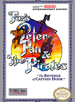 Juego online Fox's Peter Pan and the Pirates: The Revenge of Captain Hook (NES)