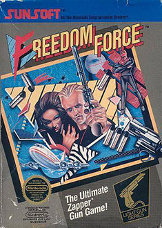 Juego online Freedom Force (NES)