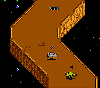 Pantallazo del juego online Galaxy 5000 (NES)