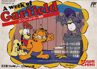Juego online Garfield no Isshukan: A Week of Garfield (NES)