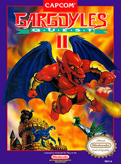 Juego online Gargoyle's Quest II: The Demon Darkness (NES)