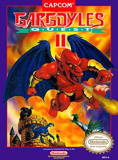 Carátula del juego Gargoyle's Quest II The Demon Darkness (NES)