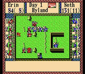 Pantallazo del juego online Gemfire (NES)