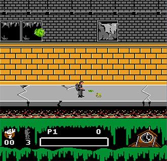 Pantallazo del juego online Ghostbusters II (NES)