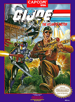 Juego online G.I. Joe: The Atlantis Factor (NES)