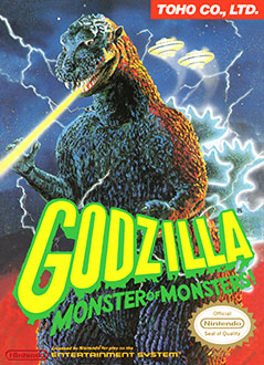 Juego online Godzilla: Monster of Monsters! (NES)