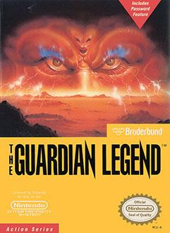 Portada de la descarga de The Guardian Legend