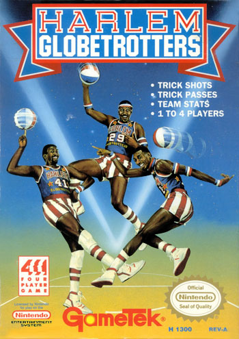 Juego online Harlem Globetrotters (Nes)