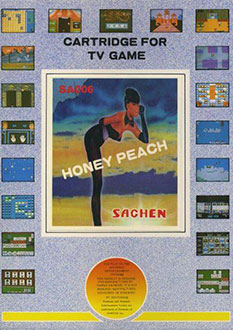 Portada de la descarga de Honey Peach