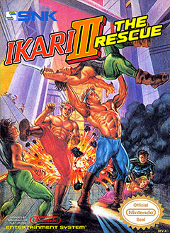Juego online Ikari Warriors III: The Rescue (NES)