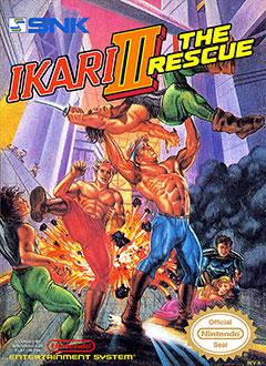 Portada de la descarga de Ikari Warriors III: The Rescue