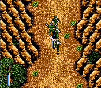 Pantallazo del juego online Ikari Warriors III The Rescue (NES)