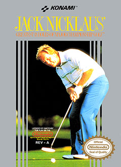 Juego online Jack Nicklaus' Greatest 18 Holes of Major Championship Golf (NES)