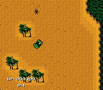 Pantallazo del juego online Jackal (NES)