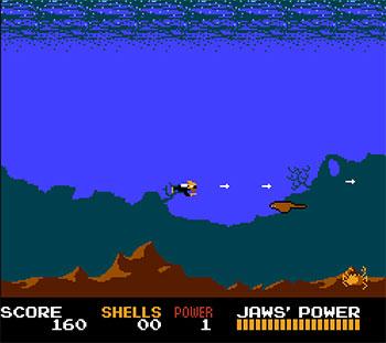 Pantallazo del juego online Jaws (NES)