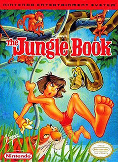 Carátula del juego Disney's The Jungle Book (NES)