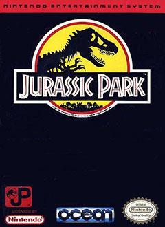 Carátula del juego Jurassic Park (NES)