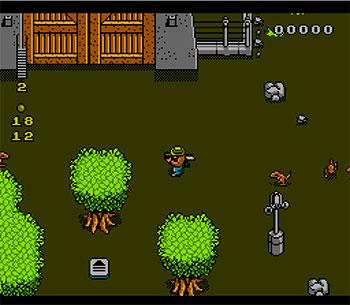 Pantallazo del juego online Jurassic Park (NES)