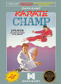 Juego online Karate Champ (NES)