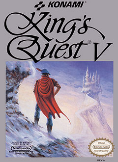 Portada de la descarga de King's Quest V