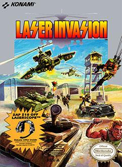 Portada de la descarga de Laser Invasion